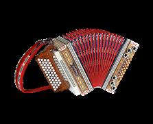 Show-Harmonika 4reihig